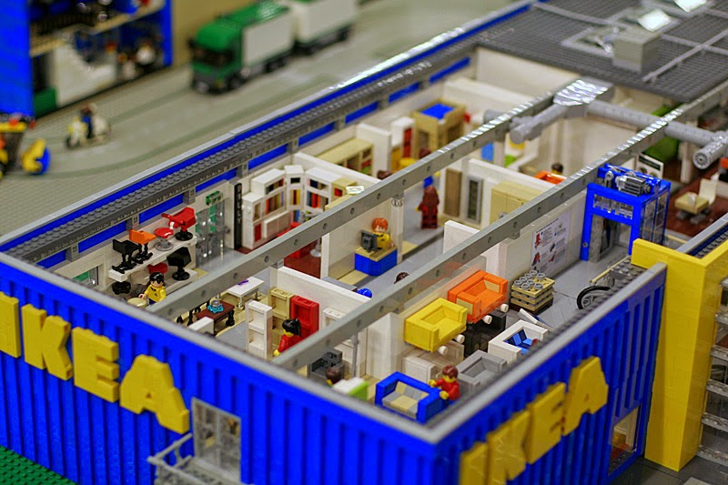 lego and ikea... sums up the day really