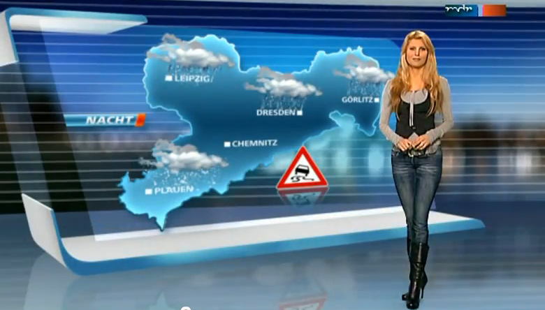 Maira rothe weather girl - 2 part 2