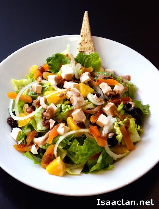 The Salad Bar Citta Mall Ara Damansara (Shown here the Blog Salad - RM13.90 full, RM8.90 half)