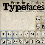 Tabla Tipografía