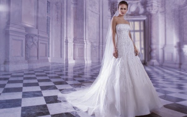Romantic Wedding Dresses by Demetrios Couture 7