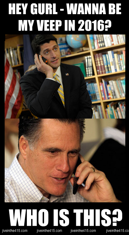 Romney Ryan meme election 2012 wanna be my veep choice in 2016