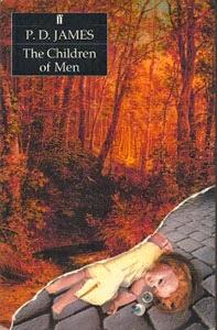 Portada original de Hijos de hombres, de P. D. James