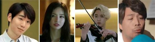 Baek Seo Bin 백서빈 as Han Seung Oh, Kim Yoo Mi  김유미 as Chae Do Kyung, Go Kyung Pyo 고경표 as Yoo Il Rak and Ahn Kil Kang 안길강 as Yoo Won Sang
