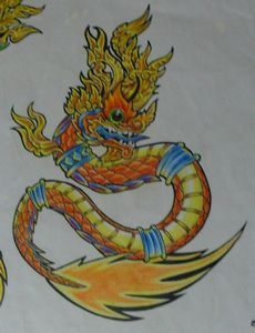 all new tattoos: Tattoo Naga Thailand - Thai Dragon Tattoo