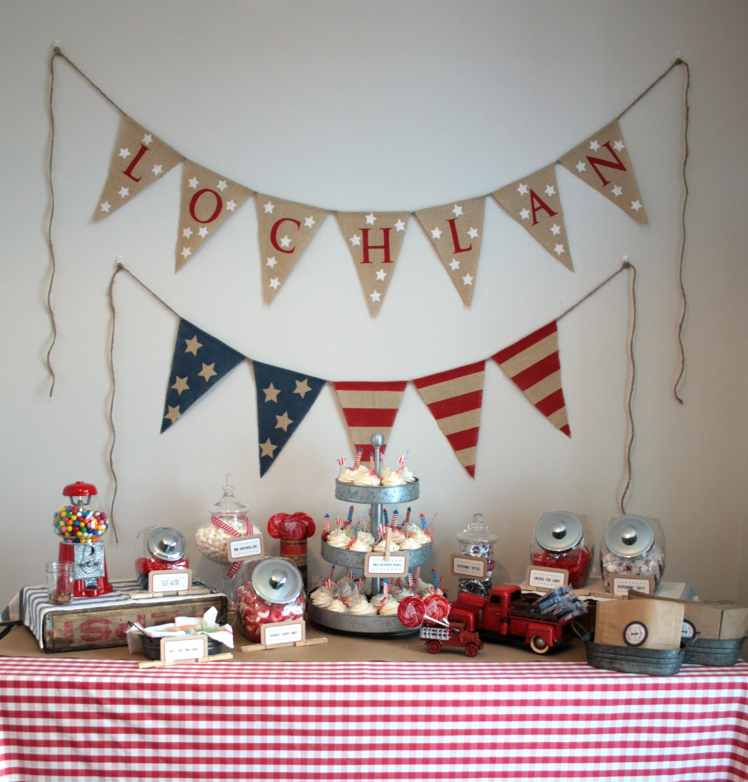 Heather G. Young: American Boy Birthday Party
