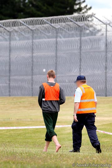 "Chasing Sun Rays, an annual walk/run-a-thon to raise awareness and to support the nationwide, ""Family Violence, It's not OK, but it is OK to ask for help"" campaign - at Hawke's Bay Regional Prison, Mangaroa, Hastings. photograph"