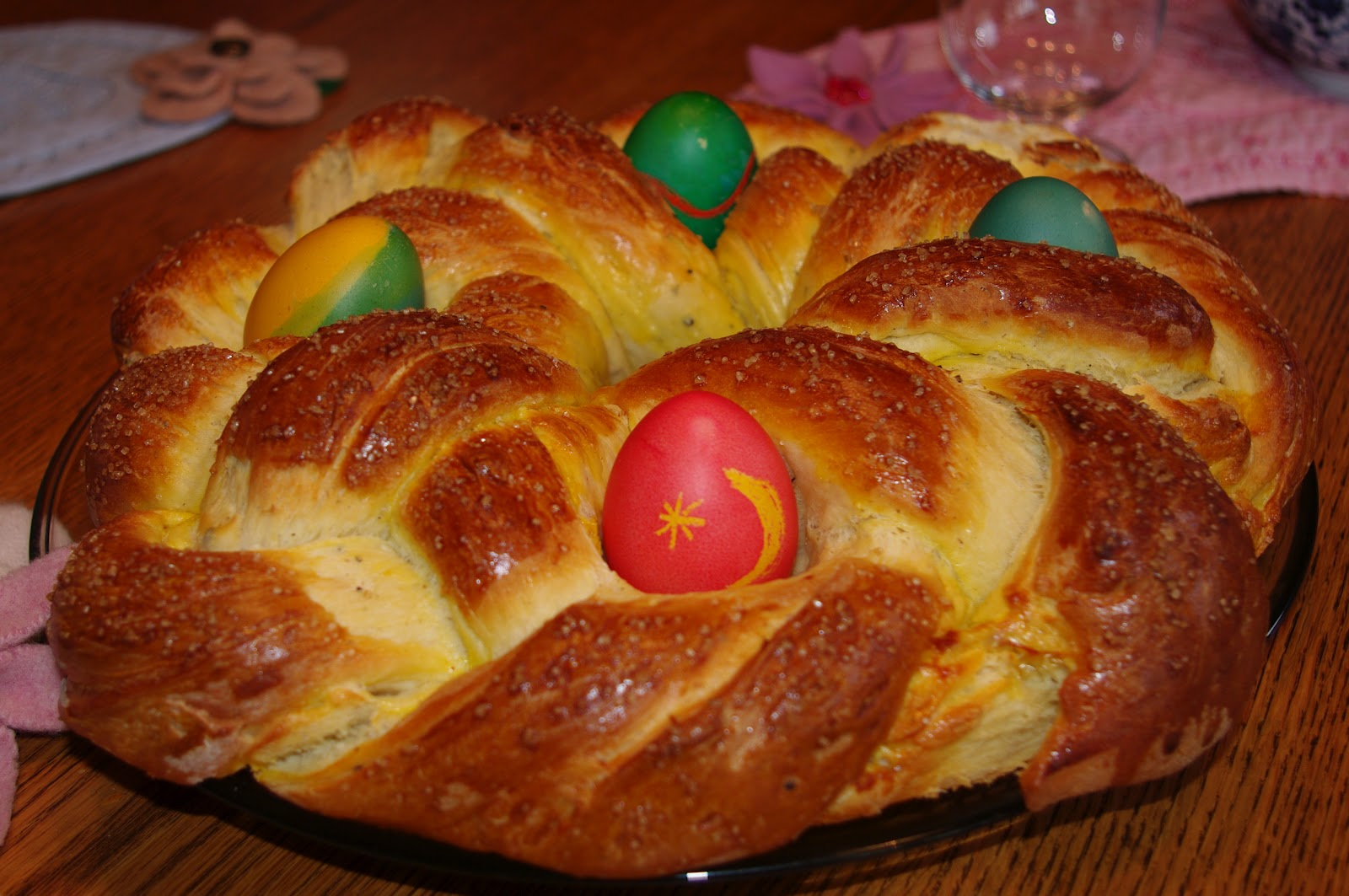 passengers on a little spaceship: braided easter bread recipe