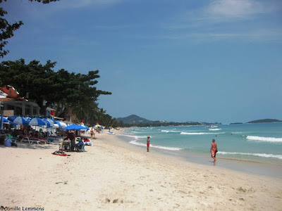 Chaweng Beach, Koh Samui, February 2013