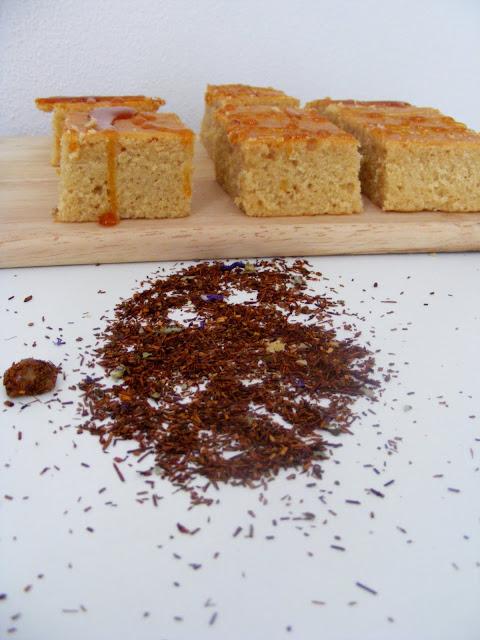 Rooibos tea butter cake