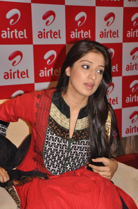 Tamil Actress Lakshmi Rai at AIRTEL Promotional Event glamour images