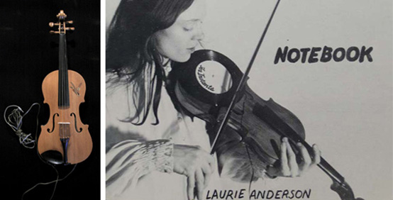 Laurie Anderson Its Not The Bullet That Kills You Its The Hole