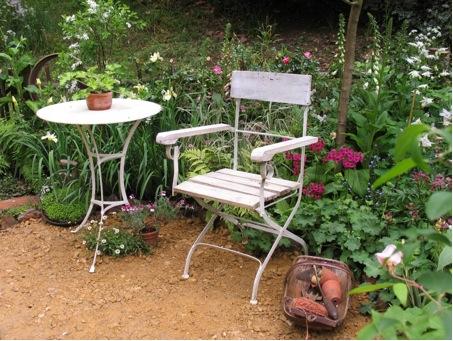 Ungewöhnlich Alte Gartenmöbel Zeitgenössisch   Hauptinnenideen