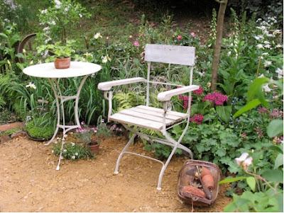 gartenkunst oder wege nach eden, Gartenmöbel