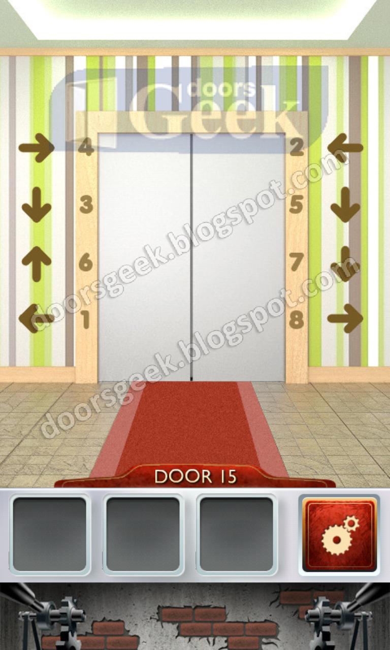 100 doors 2 level 15 doors geek