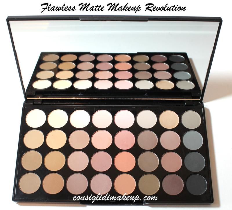 palette matte nude makeup revolution