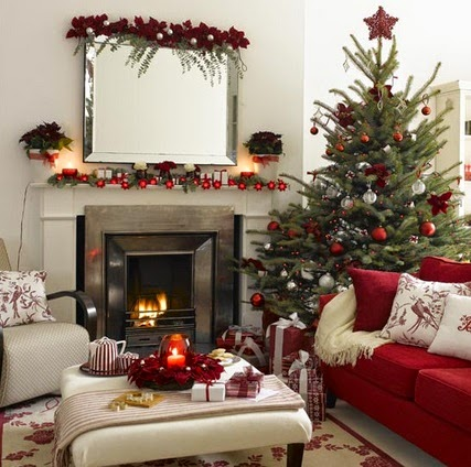 Como decorar la casa en navidad decorar tu casa es for Como decorar tu porche