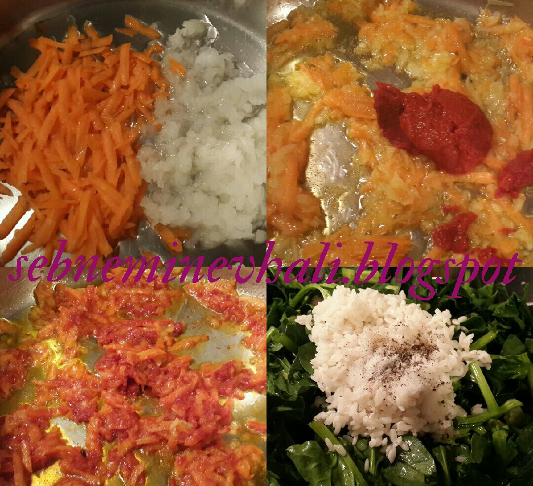 pirinçli ıspanak nasıl yapılır