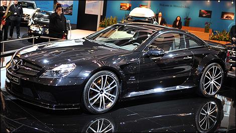 sporty mercedes-benz sl65 amg black series brabus tuned ~ a dream car