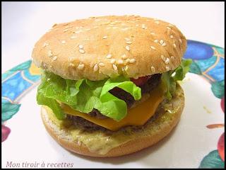burger sauce au poivre