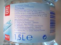 Agua mineral Fuente Primavera DIA en el Blog de las Marcas Blancas
