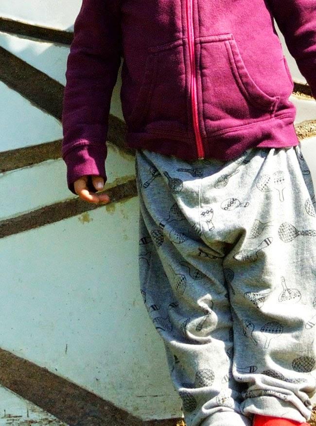 Indikidual maraca pants - KIDdO Style - detail