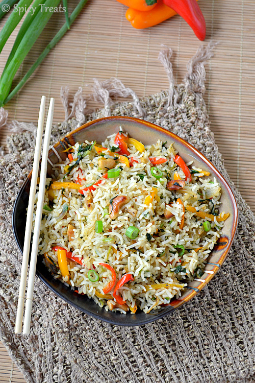 Indian Style Rice Recipe — Dishmaps