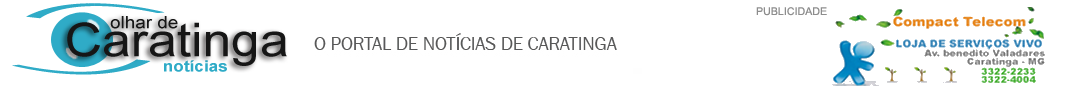 NOTICIAS DE CARATINGA MG