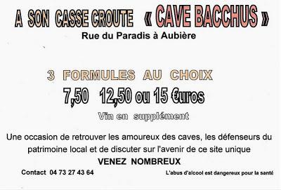 Caves d'Aubière. ASCA 2012