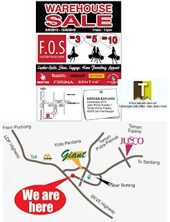 FOS Warehouse Sale