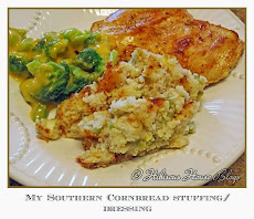 My Southern Cornbread Stuffing/Dressing