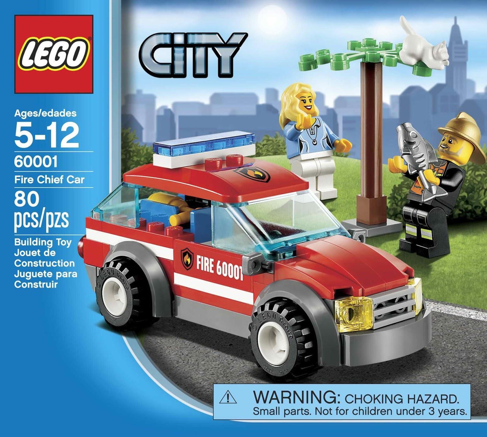 Onetwobrick Set Database Lego 60001 Fire Chief Car