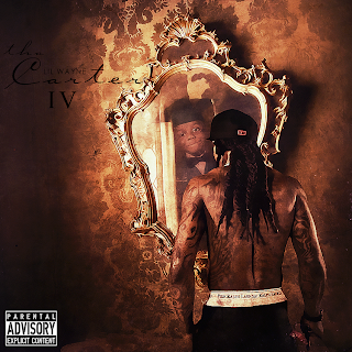 V Album Cover Designz Graphics: Tha Carter IV Album Cover [Carter 1-2 Text]
