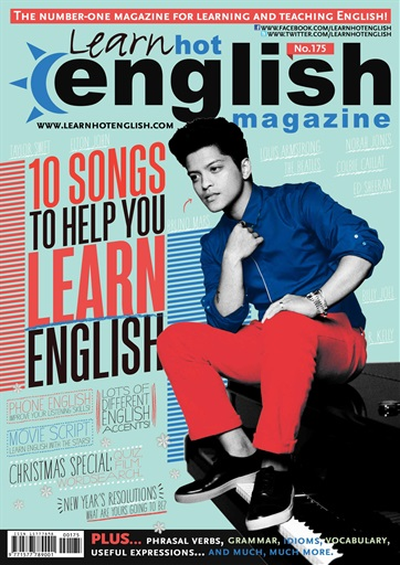 Learn English with Hot English Magazine