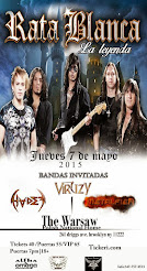 "RATA BLANCA EN EL ""THE WARSAW POLISH NATIONAL HOME"" (EE.UU.) - 07/05/2014"