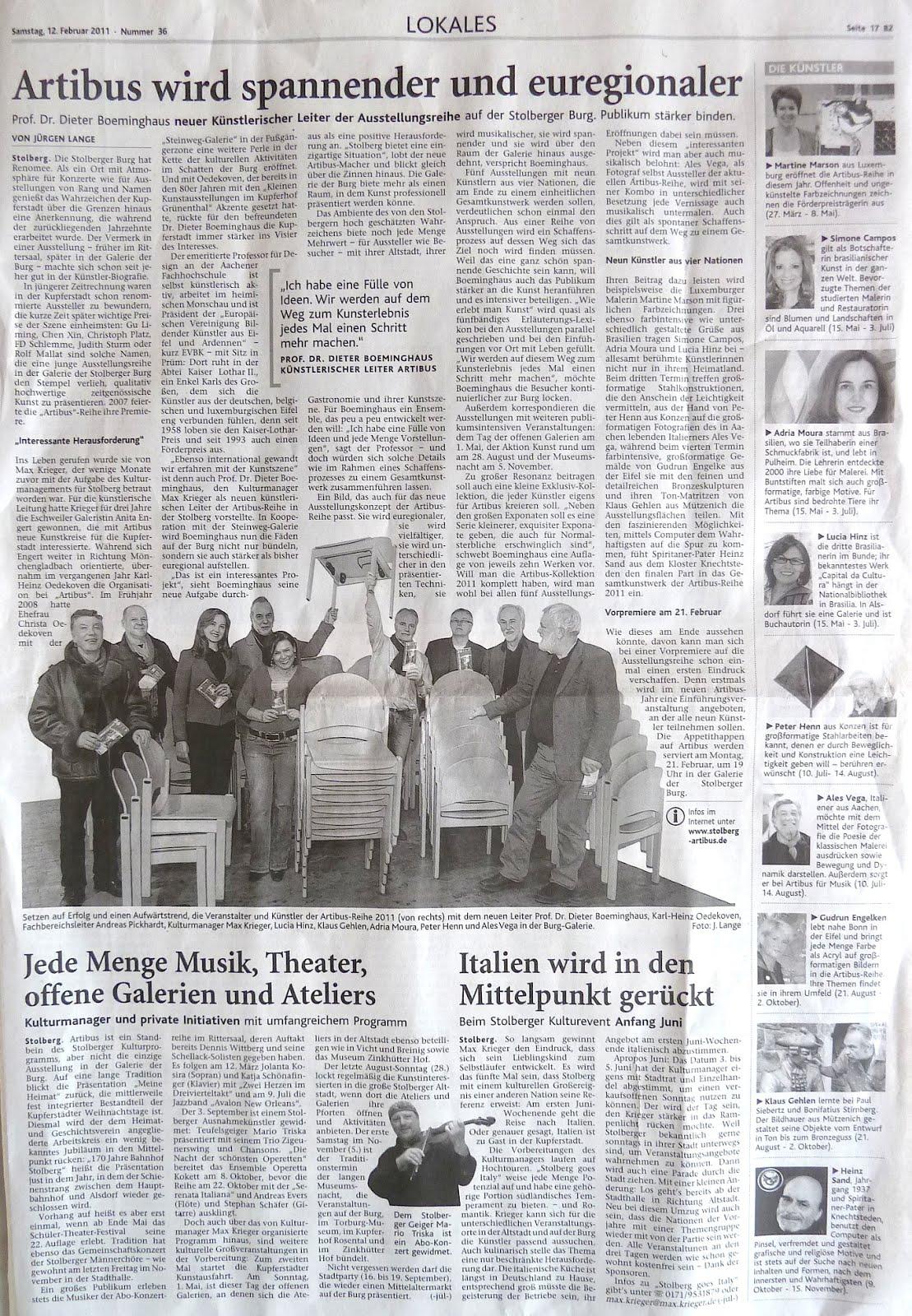 Artbus Nr. 2 -  November 2011
