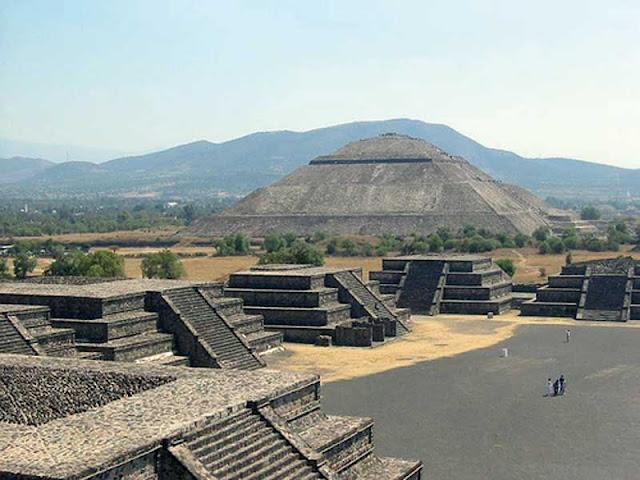 Zona Arqueológica Teotihucan, Estado de México