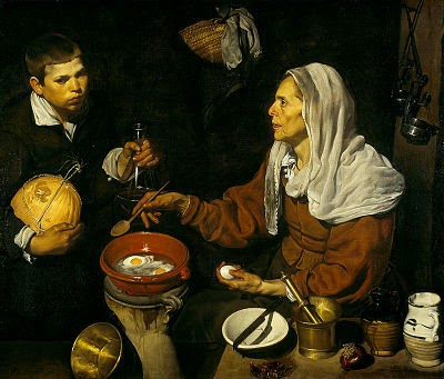 1599-1622: Velázquez pasa sus años de formación en Sevilla