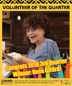 VOLUNTEER OF THE QUARTER, 3rd Quarter 2018
