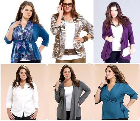 Варианты Одежды Для Полных