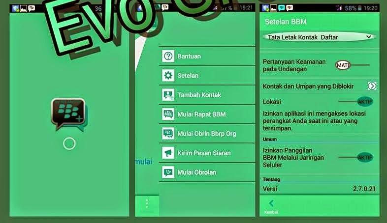 BBM Mod V2.7.0.21 Terbaru