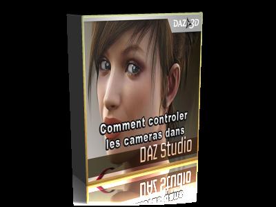 comment controler les cameras dans Daz Studio