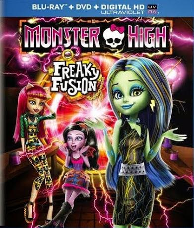 Monster High: Uma Fusão Muito Louca – Dublado (2014)