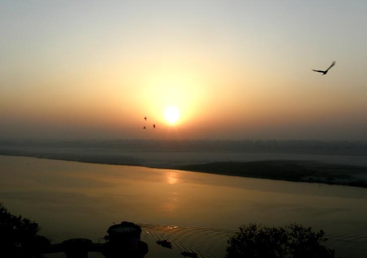 日出。禅机