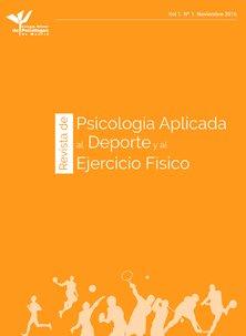 REVISTA DE PSICOLOGÍA APLICADA AL DEPORTE Y AL EJERCICIO