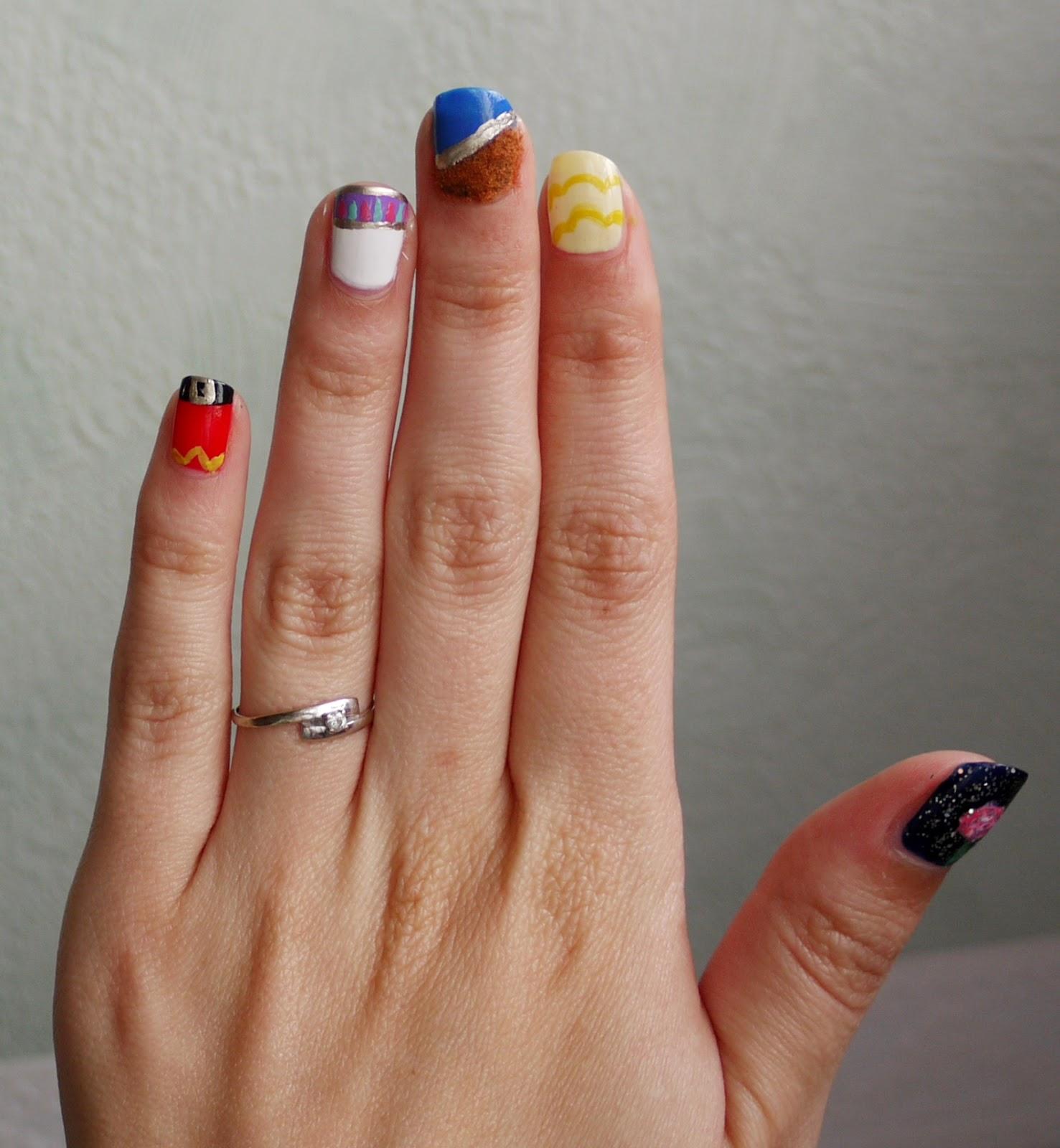 Nail La Belle: BeautyFood: Nail Art Disney : La Belle Et La Bête