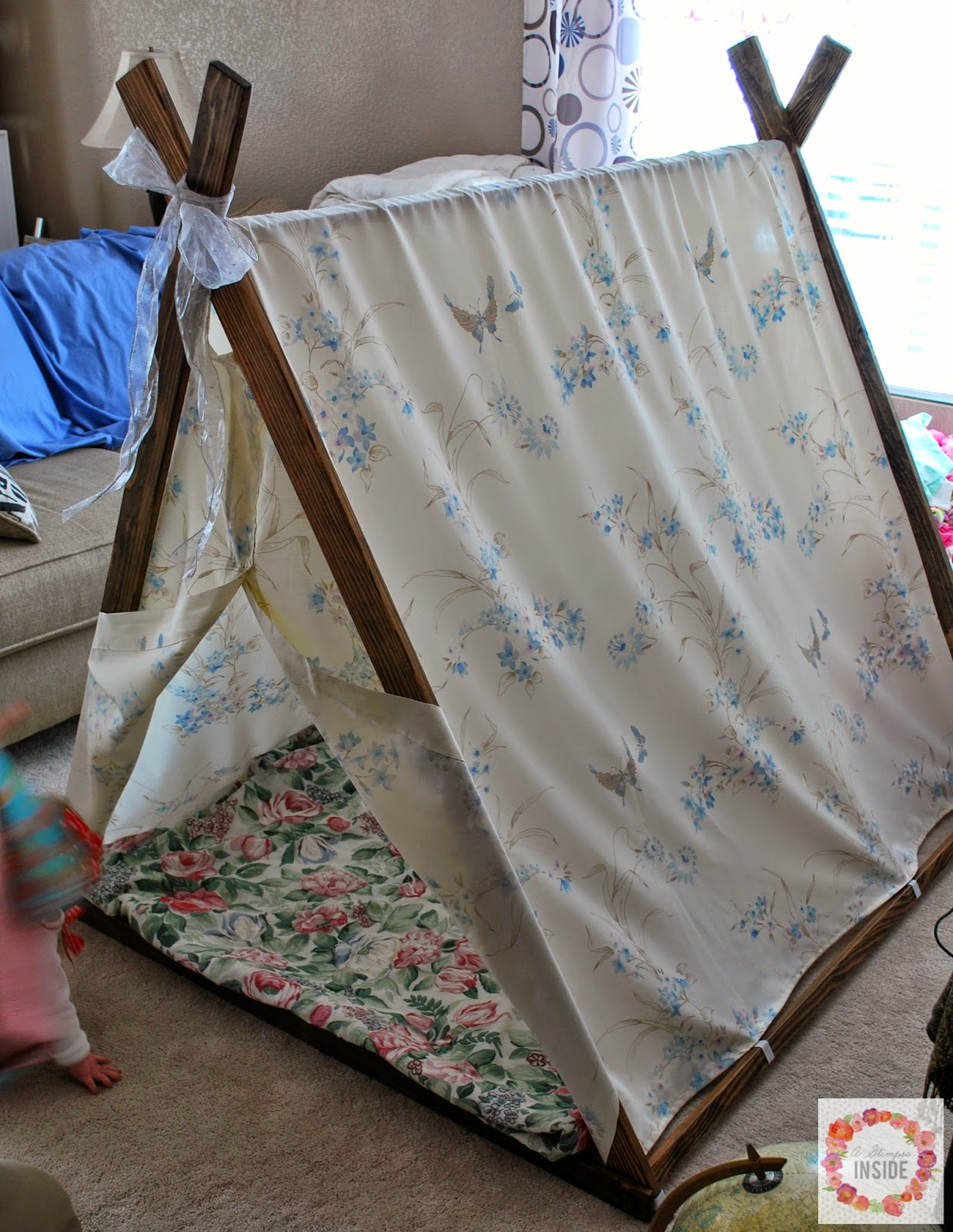 & A Glimpse Inside: DIY Play Tent