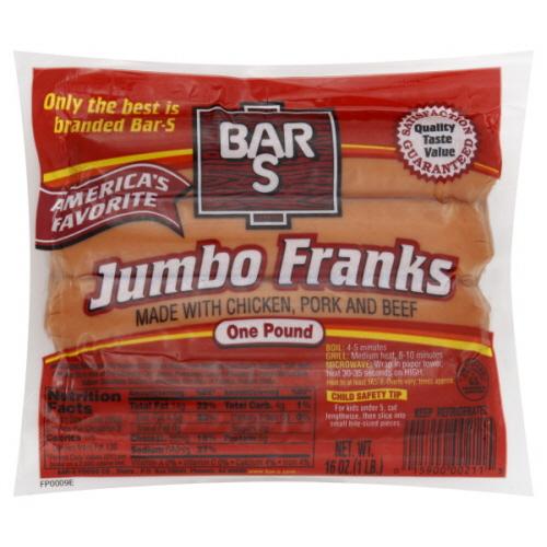 Bar S Hot Dog Coupons