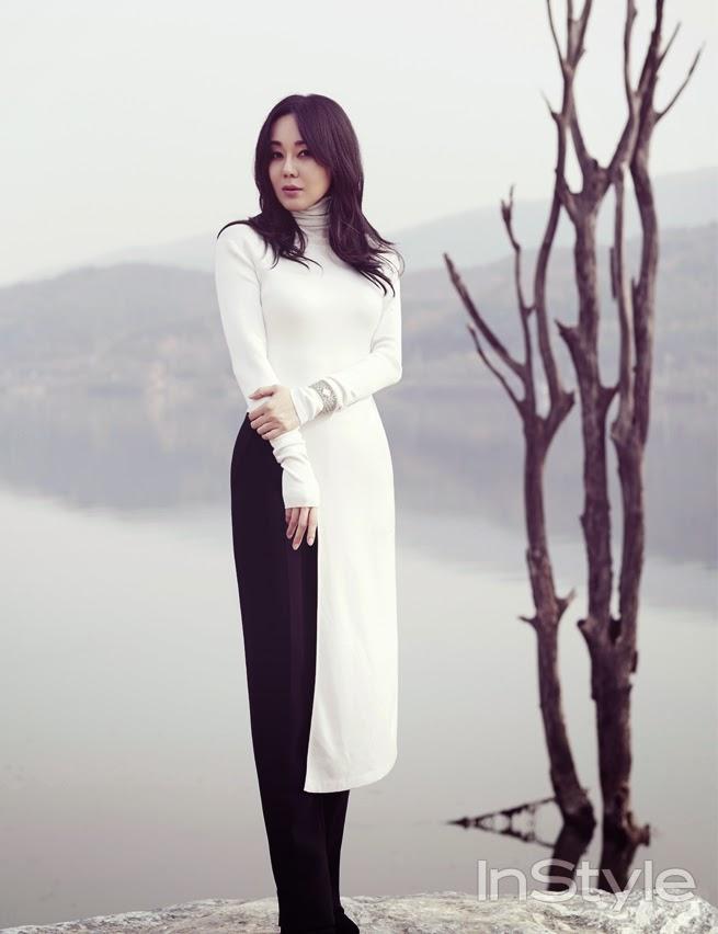 Kim Yun Jin - InStyle Magazine December Issue 2014