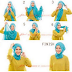 Foto Tutorial Hijab Modern Kantor Simple